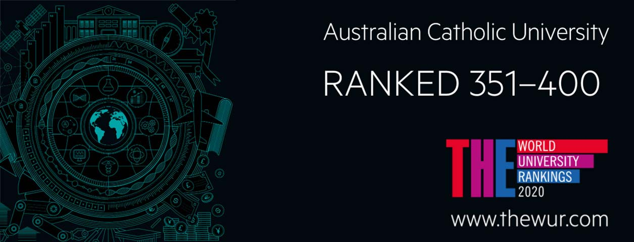 ACU rises in world rankings for third year