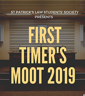 First Timers Moot 2019