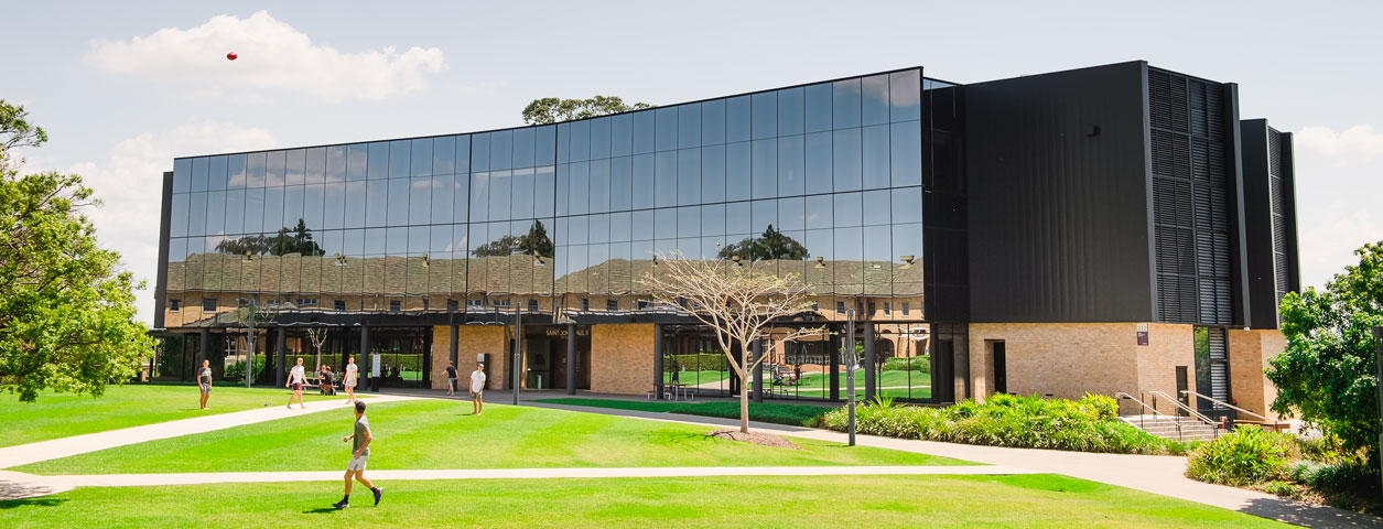 Brisbane campus - front shot