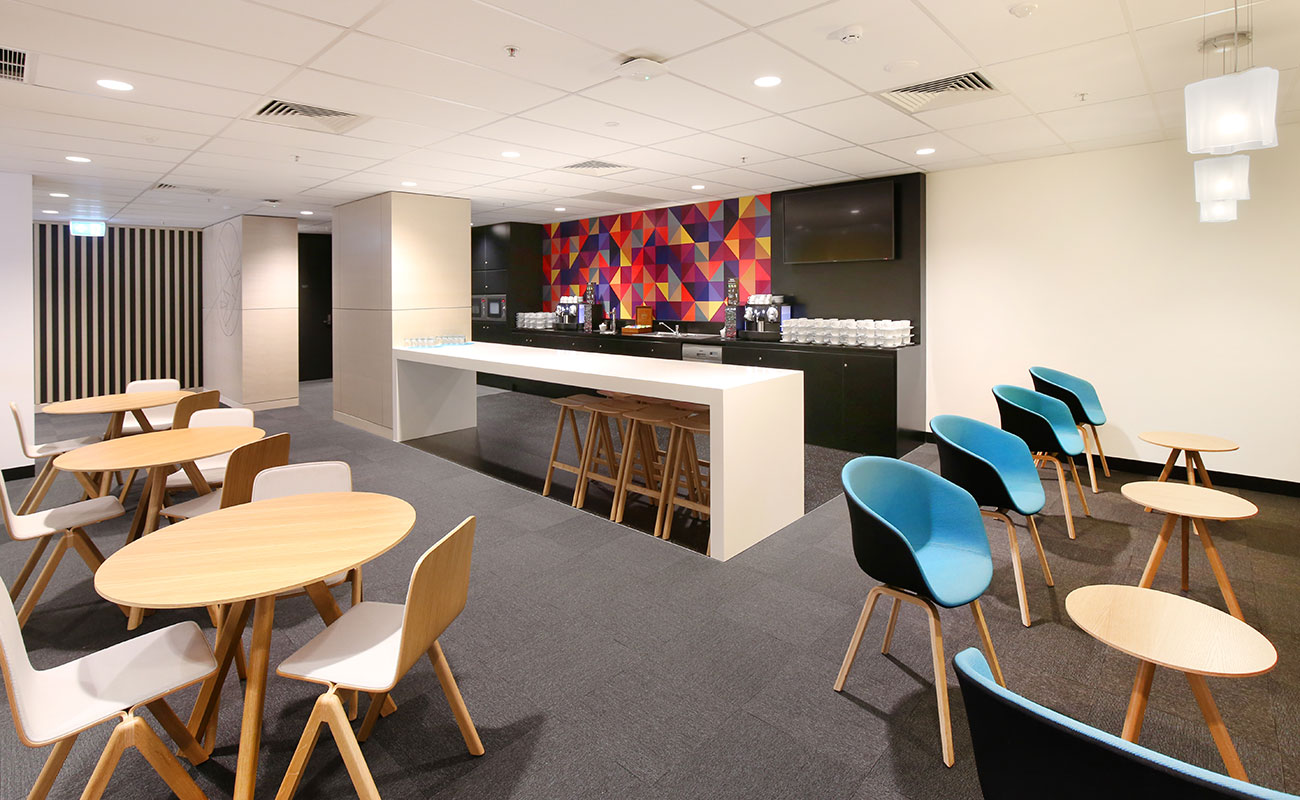 ACU Leadership Centre lounge area