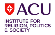 ACU Institute for Religion, Politics and Society