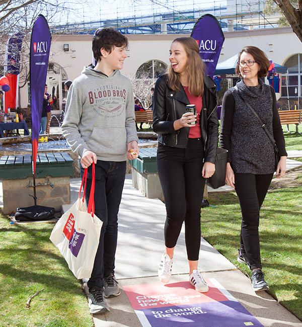 Experience Open Day at ACU