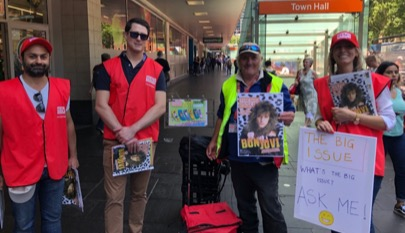 Community engagement - The Big Issue