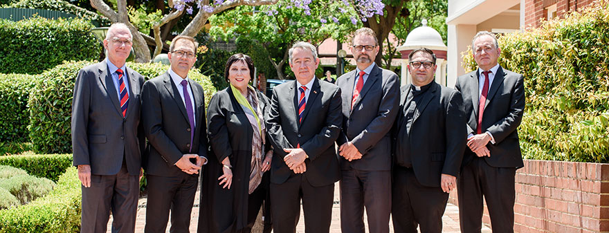 ACU Senior Executive Group members