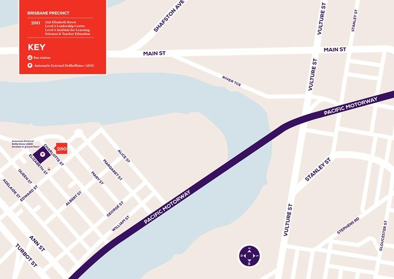 Saint Leo University Campus Map.Brisbane Campus Mcauley At Banyo Map