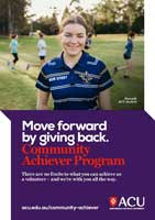 Community Achiever Program