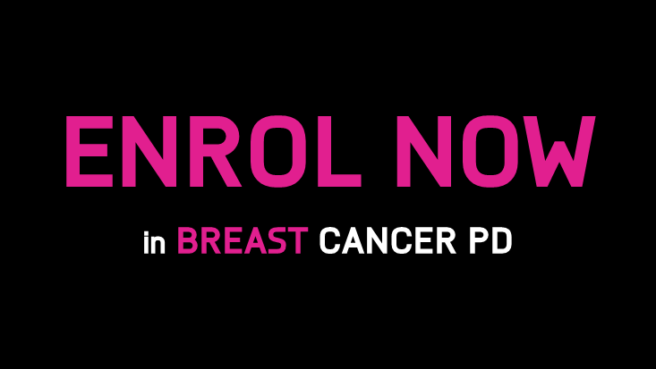 Breast Cancer PD enrol now CTA