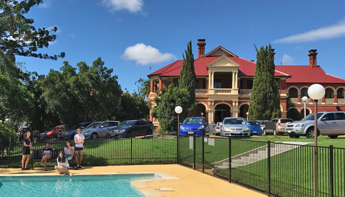 Raymont accommodation for ACU students